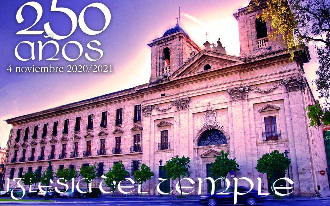 250 años del Temple